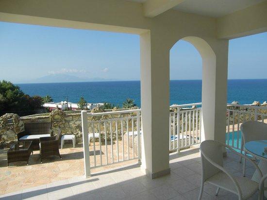 Mavrikos Luxury Villas - Romi, Klea, Kaly, Pearl: View from the veranda
