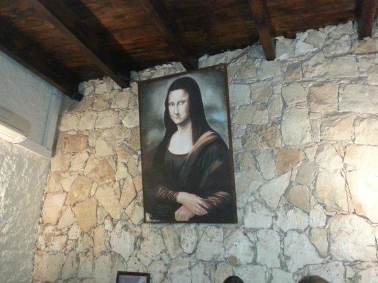 Leonardo Cafe Italian Restaurant: Mona Lisa rummet