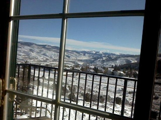 Lodge & Spa at Cordillera : my view as I write this review