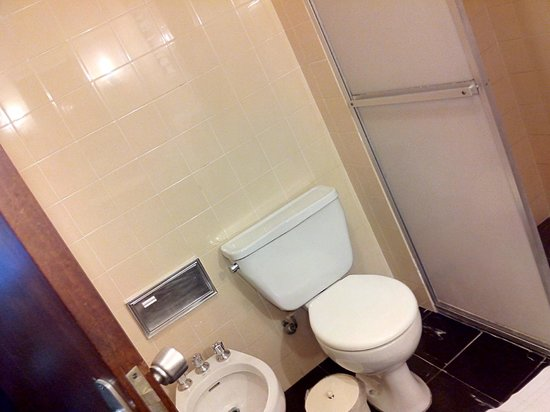 Hotel Plaza Blumenau: Banheiro