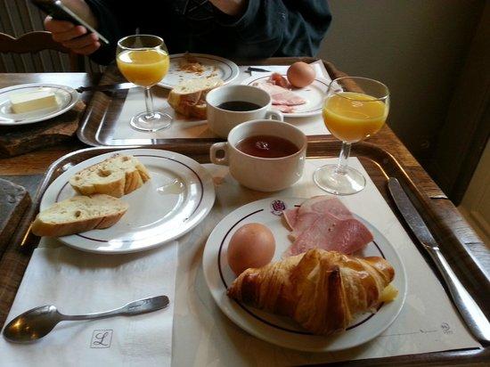 Hotel de l'Abbaye: Petit déjeuner