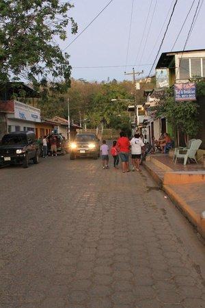San Juan del Sur Beach: streets