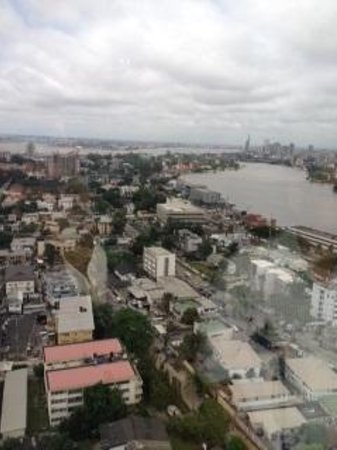 InterContinental Lagos: View from my room