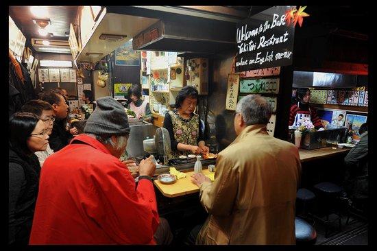 Omoide Yokocho: Small shops