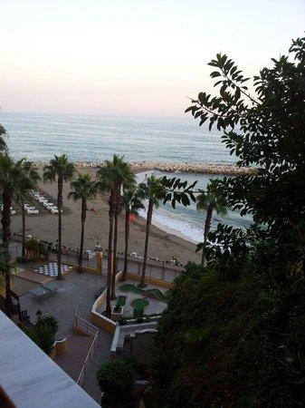 Playabonita Hotel: Desde el balcon
