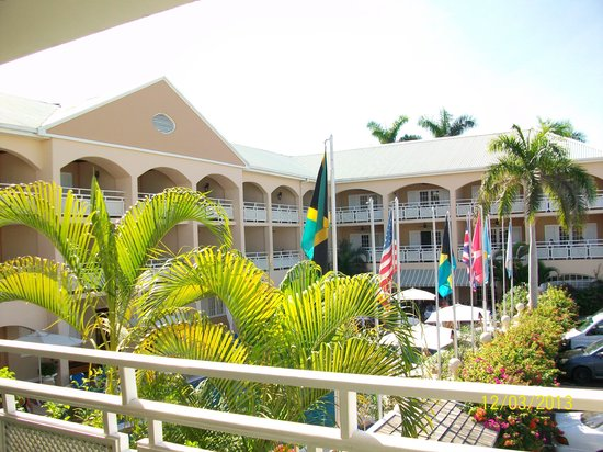 Sandals Inn: View from Room 201