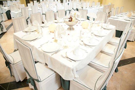 Hotel Restaurante Dulcinea: mesa montaje bodas