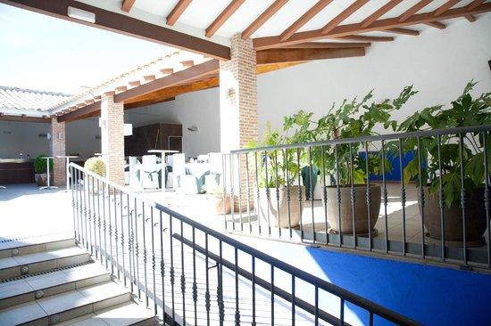 Hotel Restaurante Dulcinea: terraza de verano, restaurante, coktail bodas, copeo..