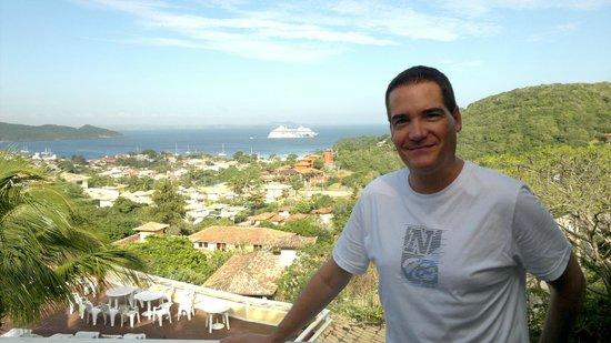 Hotel Pousada e Spa Villa Mercedes: Panorámica desde el balcón de la habitación 8