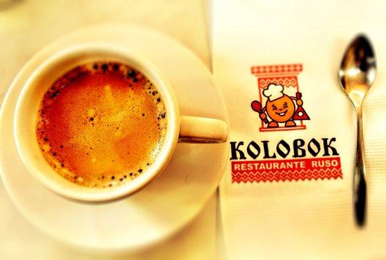 Kolobok Santa Maria: Espresso....!!!!