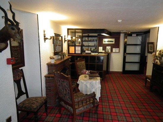 The Lagg Hotel: Main reception