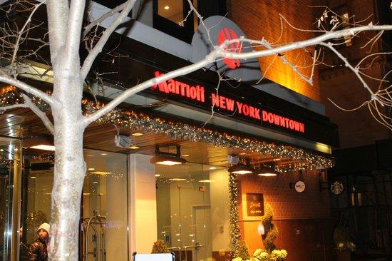 New York Marriott Downtown: hotel Marriott Dow Town