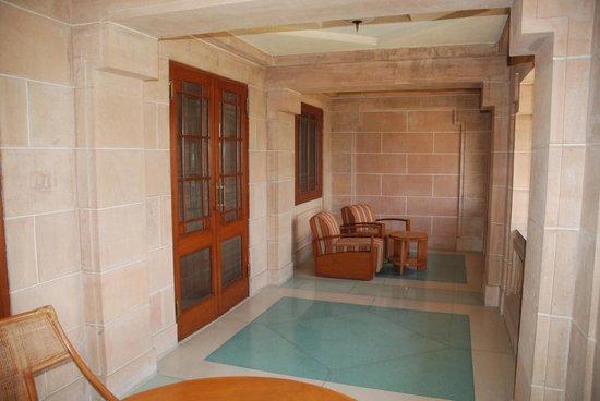 Umaid Bhawan Palace Jodhpur: Balcony
