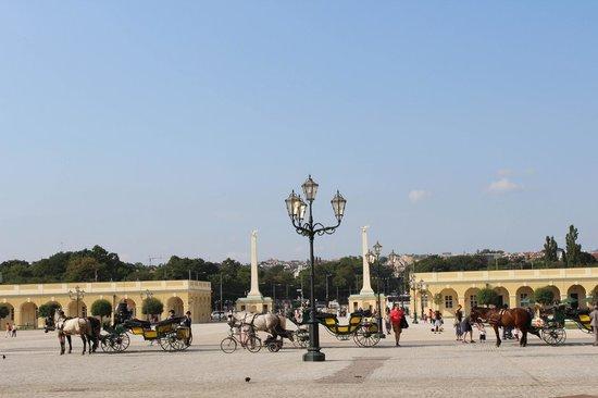 Schloss Schönbrunn: Вход в парк