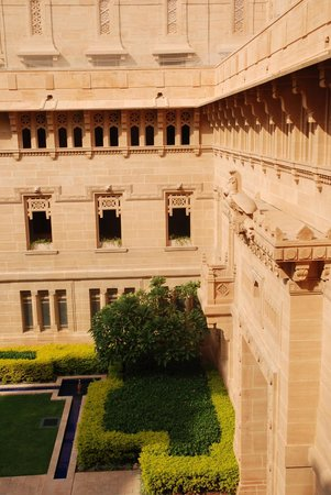 Umaid Bhawan Palace Jodhpur: Internal Courtyard