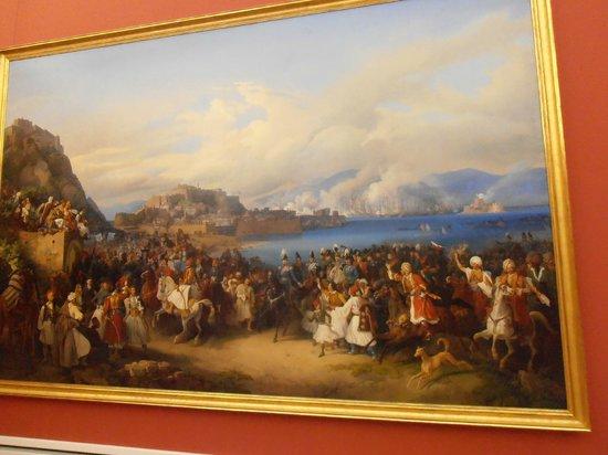 Neue Pinakothek: EL REY OTON DE GRECIA ENTRANDO EN NAUPLIA