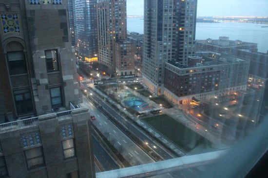 New York Marriott Downtown: vista da camera