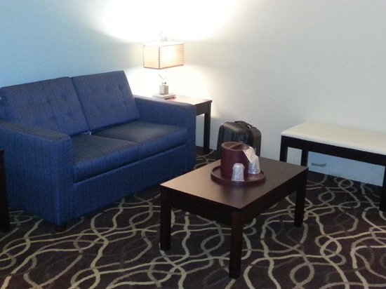 Best Western Plus Savannah Airport Inn & Suites : Couch and table