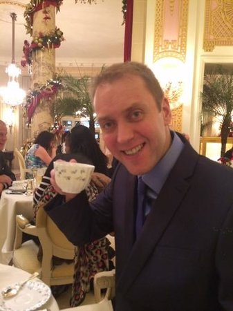 The Ritz London: Cheers....