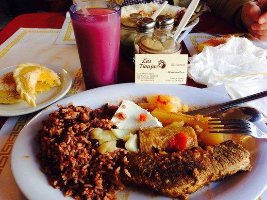 Las Tinajas Restaurant: my meal
