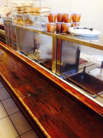 Las Tinajas Restaurant: the menu selection