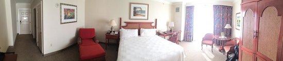 Riverside Hotel: Panorama of room