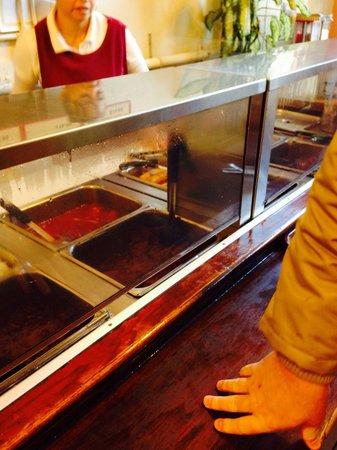 Las Tinajas Restaurant: the choices of Manu