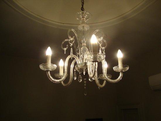 Inn on St. Peter: Light fixture
