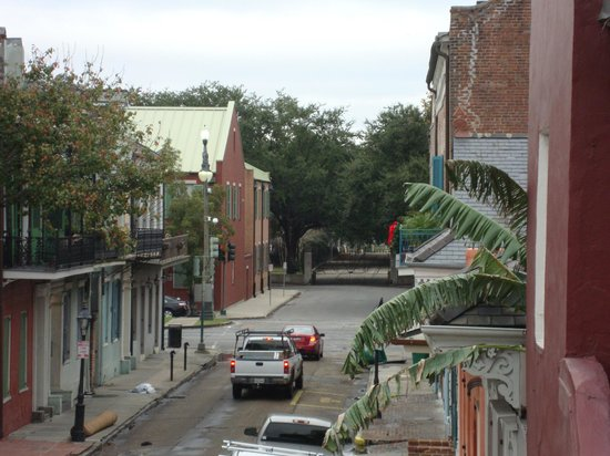 Inn on St. Peter: View towards Congo Square