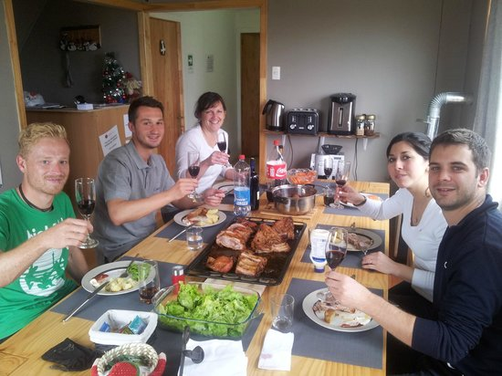 Hostal Morocha: Lunch with our guests