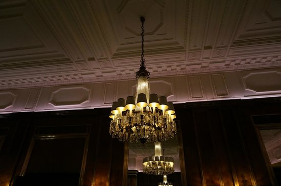 Hotel Bristol Vienna: The new restaurant was unveiled during my stay-- they gutted the ceiling to restore the orginal.