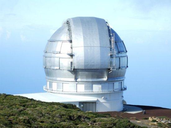 Instituto de Astrofisica de Canarias : View of the telescope