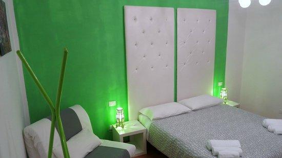 Bed & Breakfast Trento: Stanza Verde