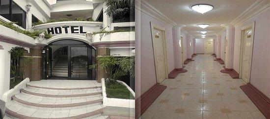 Hotel Aragosta : Entrada y Pasillos