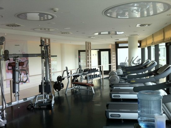Radisson Blu Hotel, Hamburg: Фитнес-зал