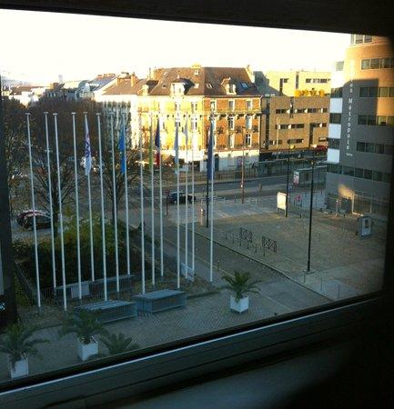 Novotel Nantes Centre Gare: Vue de la chambre
