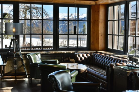 Interalpen-Hotel Tyrol: Smokers Lounge