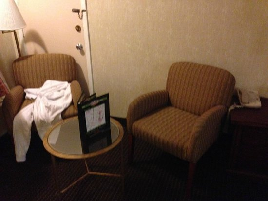 Days Inn Austin/University/Downtown: chairs