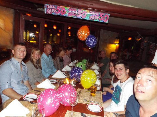 Sarova Mara Game Camp: Birthday celebrations