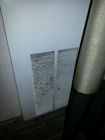 Wyndham Cleveland at Playhouse Square: Filthy HVAC unit