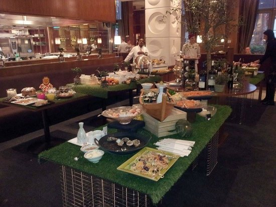 Quadrato Restaurant: Starters Buffet