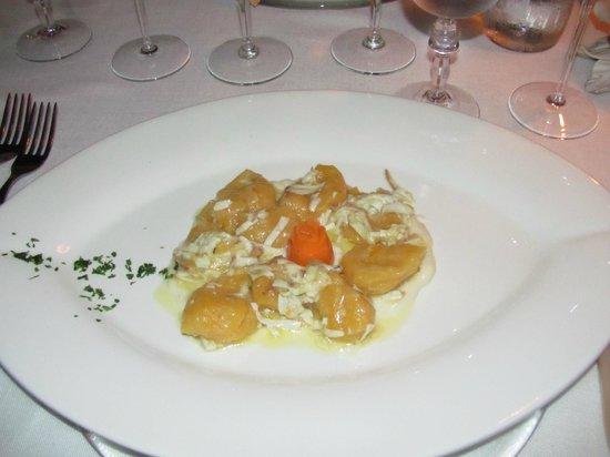 Bistrot Dal Monte Donatella: Pumpkin Gnocchi