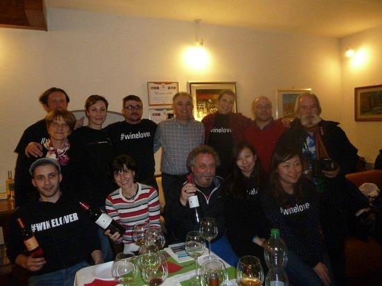 Cantina Berioli: Visita dei Bloggers internazionali