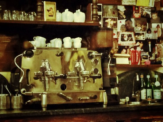 Pizzeria del Ticinese: Vintage coffee