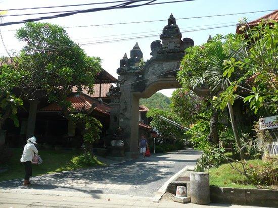 Hotel Puri Rai: Entrée