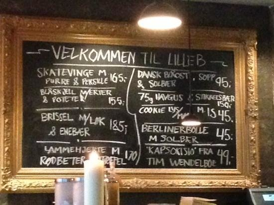 Lille B: Daily specials