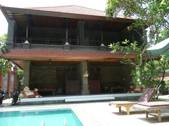 Hotel Puri Rai: vue des terrasse des chambres