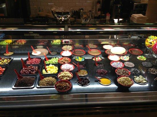 Anita Cafe La Mamma del Gelato: Присыпки