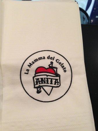 Anita Cafe La Mamma del Gelato: Лого