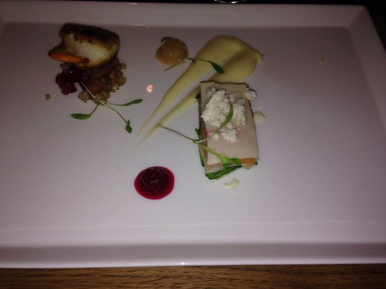 La Rock Restaurant : Salmon starter